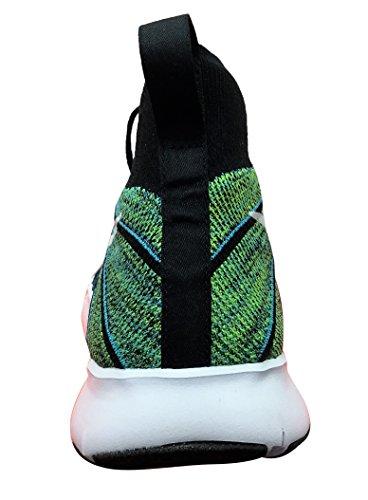Nike Free Train Force Flyknit Elektrisch Groen / Wit-gamma Blauw
