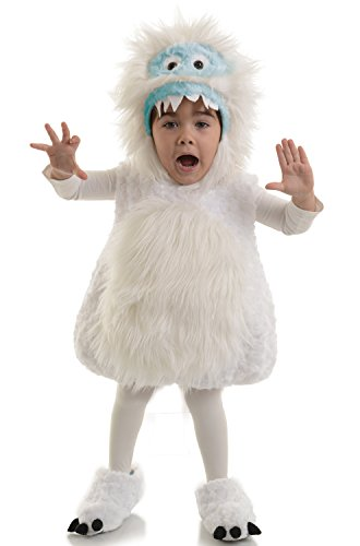 Costumes Monster (Underwraps Kid's Underwraps Baby's Snow Monster Costume, X-Large Childrens Costume, white,)