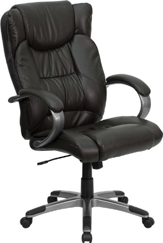 High Back Executive Leather Chair - 5