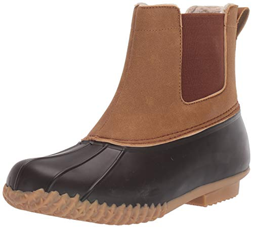 JSport by Jambu Men's Winston Weather Ready Rain Boot, Brown/Whiskey, 11 M US