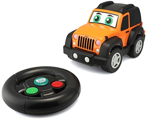 BB Junior Play & Go My First R/C Jeep Wrangler Vehicle ()