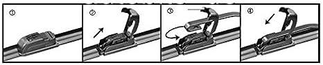 2 X 15 21 Premium Aero Soft Flat Flex Scheibenwischer 380 530mm Auto