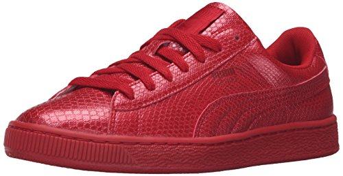 Puma Womens Basket Future Minimal Wns Fashion Sneaker Barbados Cherry