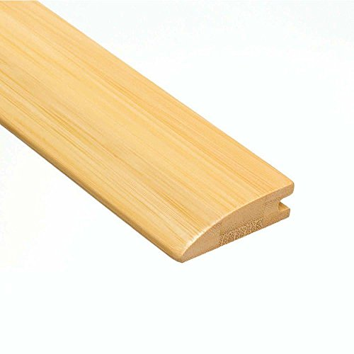 (Home Legend Horizontal Natural 9/16 in. Thick x 2 in. Wide x 47 in. Length Bamboo Hard Surface Reducer Molding)