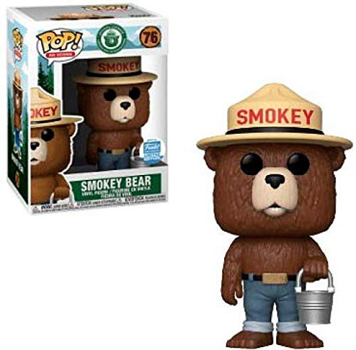 AD Icons Exclusive Funko Pop Smokey Bear with Bucket
