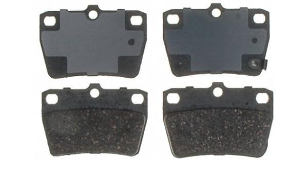 Disc Brake Pad Set-Service Grade; Ceramic Front Raybestos SGD1056C