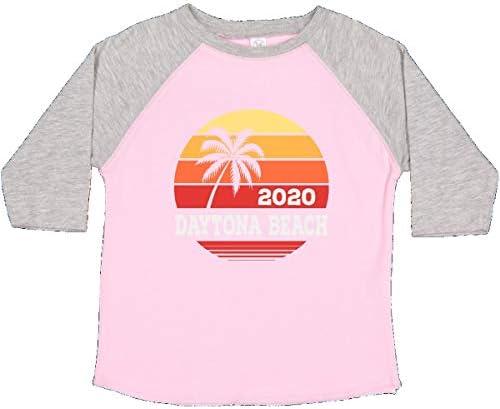 inktastic Daytona Beach Florida Sunset Toddler T-Shirt