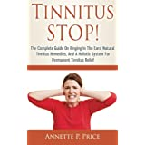 Are you suffering from ringing in the ears, or a medical term called Tinnitus? Do you know the causes of the ringing sound? Are you desperately needing to know how to stop it? Tinnitus in itself is not a disease; rather it is a symptom of an underlyi...