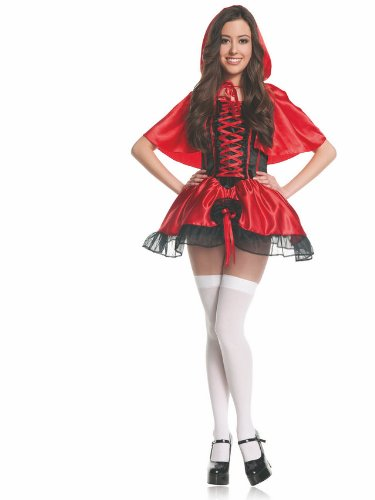 Mystery House Teen Red Riding Hood Costume, Red, Small for $<!--$53.83-->