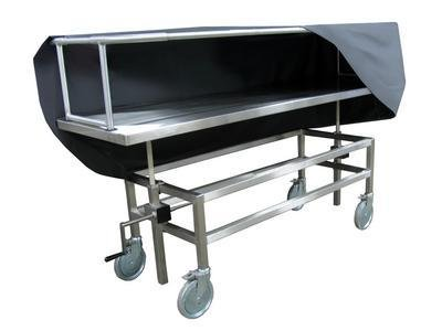 600039H - Hydraulic Covered Cadaver Carrier - Covered