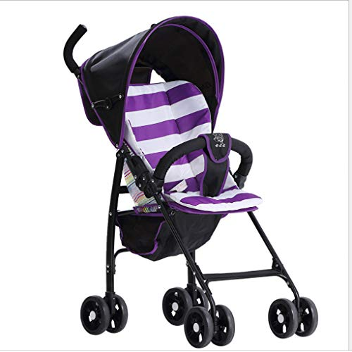 (Lightweight Folding Stroller - High Landscape Shock Absorber Mini Child Pocket Umbrella for Aircraft, Subway, Bus (3.5KG))