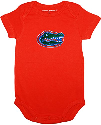 University of Florida Gators Newborn Baby Bodysuit,Orange,6-9 Months