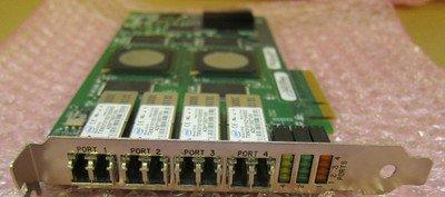 QLogic qle2464 4 Ports PCI Express Optical FC Low Profile Fibre Channel Network Card qle2464 455088-001 PX2610401-11 QLE2464-CK