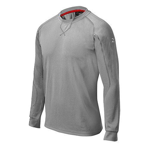 Mesh Jersey Mizuno (Mizuno 350505.9191.06.L Youth Comp Training Top L Grey)