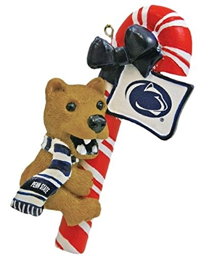 NCAA Penn State Nittany Lions Mascot Candy Cane Ornament
