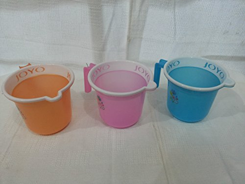 JOYO PLASTICS Mug   2 Pieces, Multicolour, 1100 ml