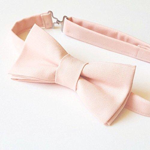 7c09cf03c27e Amazon.com: Blush Pink Bow tie: Handmade