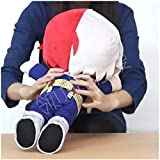 VogueMing Boku No My Hero Academia Nitotan Todoroki Shouto Plush Stuffed Doll Anime Pillow【in