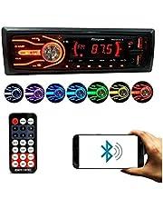 Rádio automotivo 7 Cores Bluetooth Usb Sd Aux Card MP3