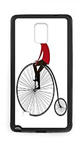 [case forcolor]:Bicycle illustration Hard Case for samsung note 4.