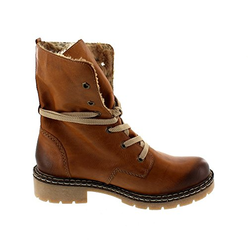 Well Wreapped Femme 01Boots Y1421 Rieker FKJ3cTl1
