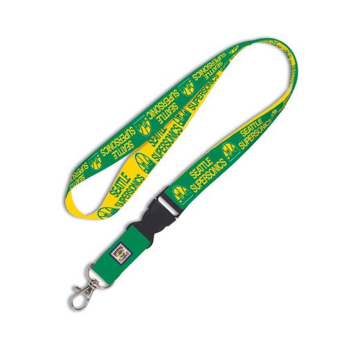WinCraft NBA Seattle Supersonics Lanyard w/Detachable Buckle