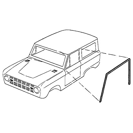 Amazon Com Dennis Carpenter Ford Restoration Parts 1966 1977 Ford