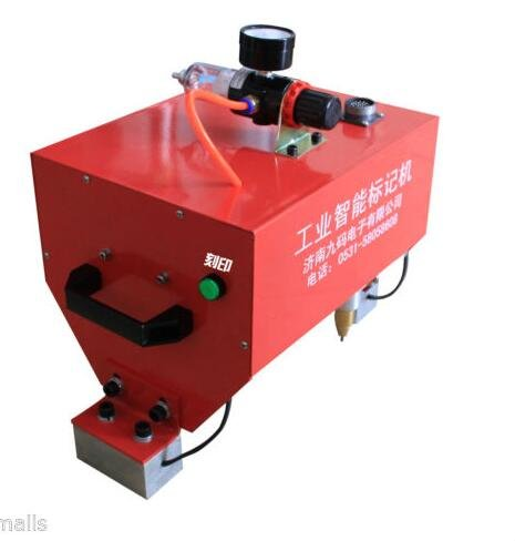 Welljoin Pneumatic Dot Peen Marking Machine VIN Code Portable Handheld ,Chassis Number by well join
