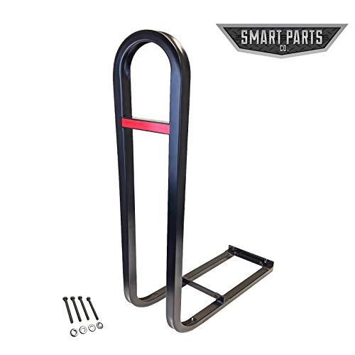 Golf Cart Rear Seat Safety Grab Bar, fits EZGO, Club Car, Yamaha + Bonus Reflector