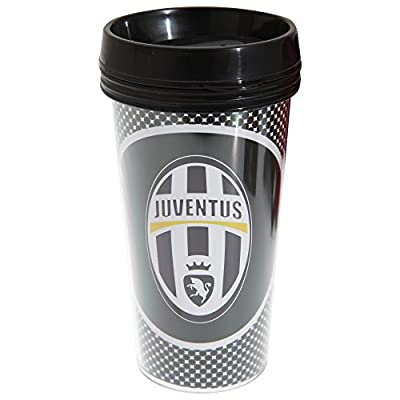 Juventus FC Official Bullseye Football Crest Travel Mug
