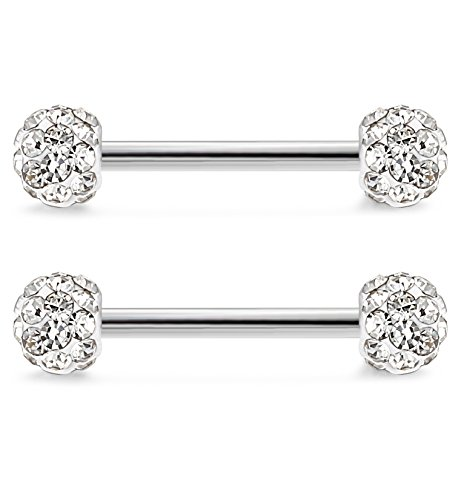 Jstyle Stainless Jewelry Piercing Barbell