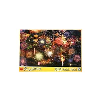 Fireworks Symphony - 300 Pieces Jigsaw Puzzle: Toys & Games