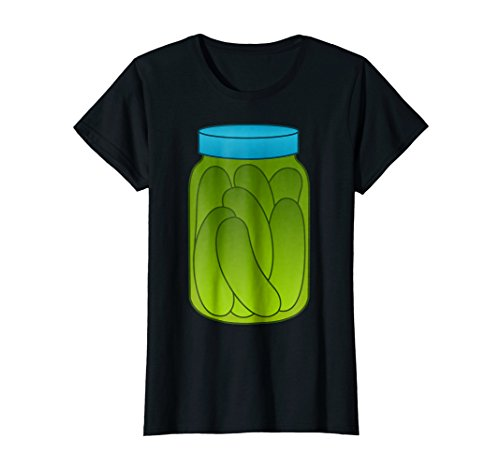 Womens Funny Halloween Costumes-Pickle Jar for Women Men Small (Womens Diy Halloween Costume Ideas)