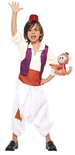 Kids Aladdin Costume (Disney Aladdin Child Costume - Small)