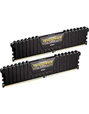 Corsair Vengeance LPX 16GB (2x8GB) DDR4 DRAM 3000MHz (PC4-24000) C15 Memory Kit - Black