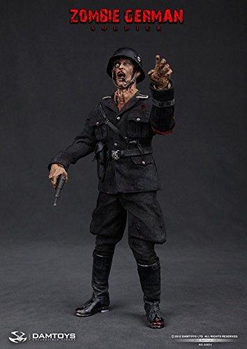 Dam Toys Zombie German Soldier 1/6 Scale 93031 Action Figure B00P12EOBS