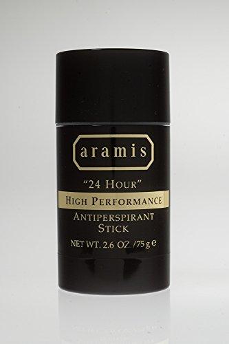 Aramis 24 Hour High Performance Antiperspirant Stick for Men, 2.6 Ounce
