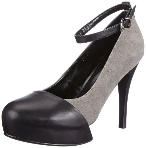 P1 65 bpm 65 Damen Pumps Schwarz (Black)