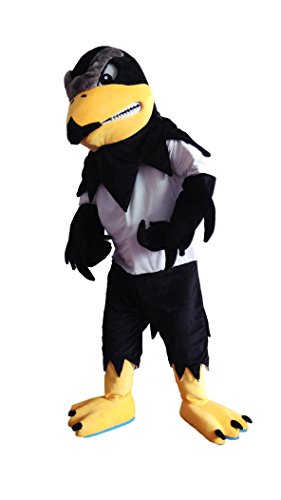 Deluxe Fierce Falcon Eagle Mascot Costume Adult Size for Height 5'11