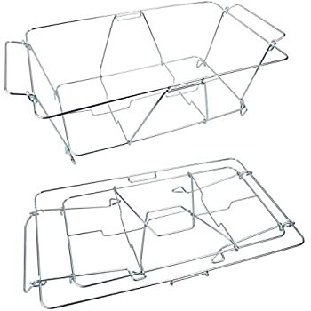 Amazon Com Party Pack 8 Piece Buffet Chafer Food Warmer Wire Frame