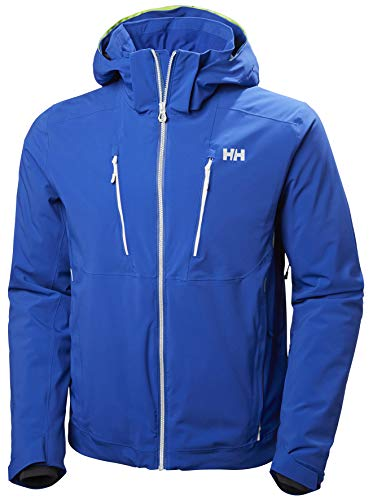 (Helly Hansen Men's Alpha 3.0 Waterproof Insulated Ski Jacket, Olympian Blue, X-Large)