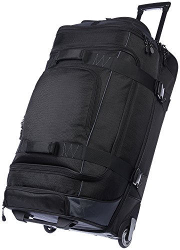 Black Wheeled Duffel Bag