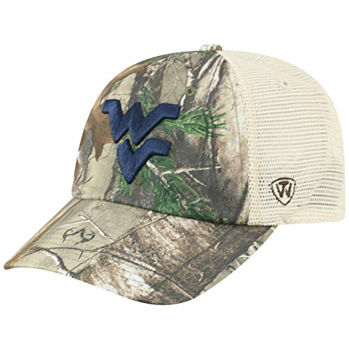 b1c015e429a0a NCAA West Virginia Mountaineers Men s Camo Stock Adjustable Mesh Icon Hat