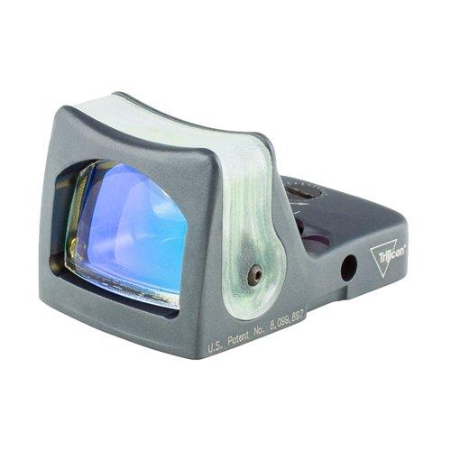 UPC 719307610651, Trijicon RM04-C-700163 RMR 7 MOA Dual-Illuminated Amber Dot Sight, Sniper Gray