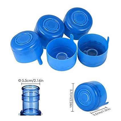 Generp Fasteer - Tapones para Botellas antisalpicaduras, Reutilizables, con asa de 55 mm (10 Unidades): Amazon.es: Hogar