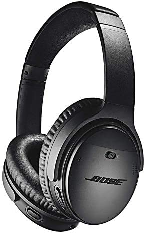Bose QuietComfort 35 Series II Wireless Noise-Canceling Headphones (Black) (789564-0010) + AOM Bundle – International Version (1 Year AOM Warranty) 410thIYmWsL
