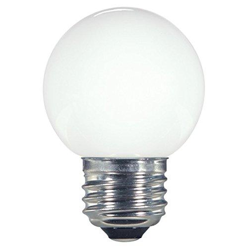 (パックof 48 ) Satco s9159、1.4 W g16.5 / WH / LED / 120 V / CD、LEDライト電球 B073ZGK45Q