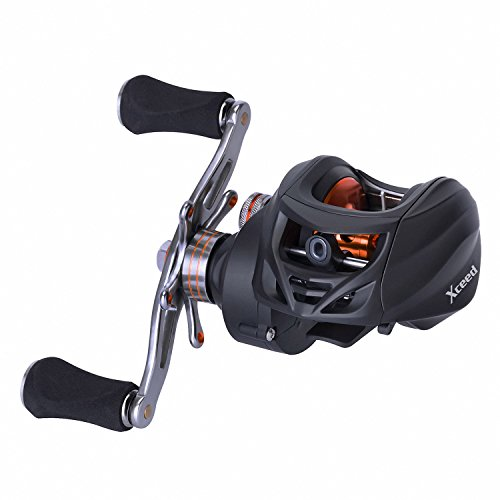 Goture Xceed Baitcasting Fishing Reel 18LB Carbon Fiber Drag 6.3:1 Baitcasters 10 +1 Shielded Bearings Super Smooth for Saltwater and Freshwater (Right Handle) For Sale