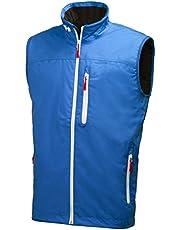 Helly Hansen Crew Vest, Smanicato Termico, Design Sportivo e Casual, per Nautica e Uso Quotidiano, Impermeabile, Antivento, Traspirante, per Ogni Stagione Uomo