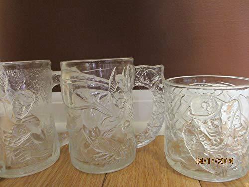 (Vintage McDonalds Pre Dawn 1995 Batman, Robin, Riddler Glasses, Vintage Collectors Batman Glass, Vintage Robin Glass, Vintage Riddler Glass)